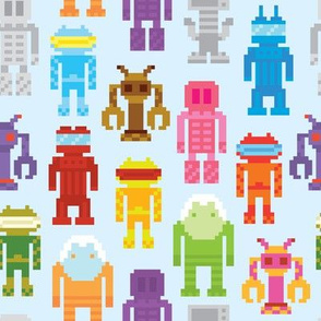 Robots machines