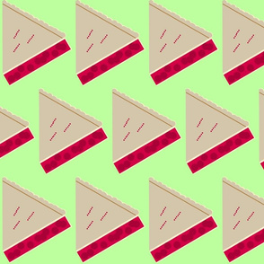 Cherry Pie Slice-green