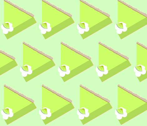 Key Lime Slice-green fabric by kae50 on Spoonflower - custom fabric