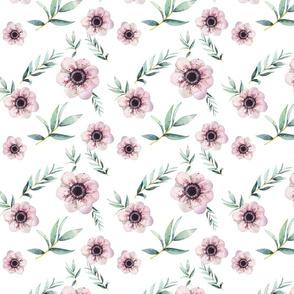 Flowers In Bloom Blush