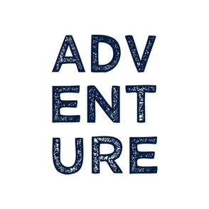 """18"""" Pillow Layout - Adventure in navy C18BS"""