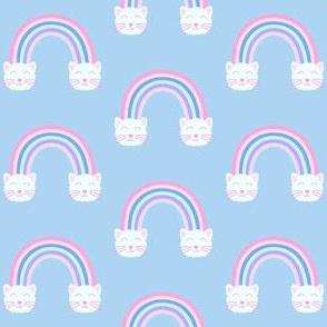 Rainbow Cat Clouds