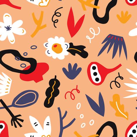 my_darling_pattern2 fabric by yuliia_studzinska on Spoonflower - custom fabric