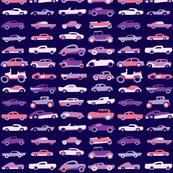 Classic Cars - Eggplant