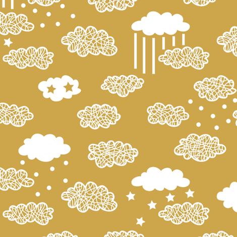 good night fabric by yuliia_studzinska on Spoonflower - custom fabric