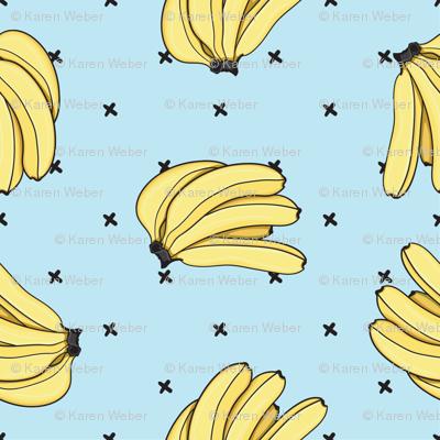 Banana Bunch, Blue