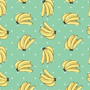 Banana Bunch, Green