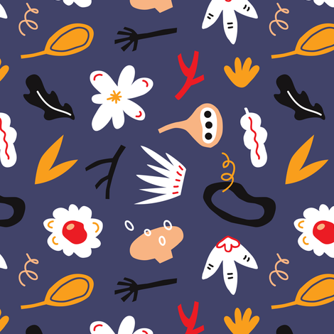 my_darling fabric by yuliia_studzinska on Spoonflower - custom fabric