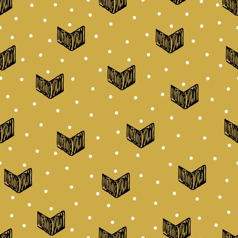 hearts fabric by yuliia_studzinska on Spoonflower - custom fabric