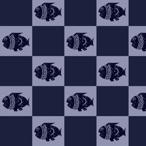 SQUARES -FISH 2