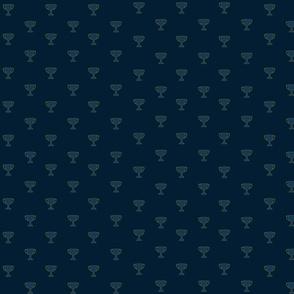 Trophies blue