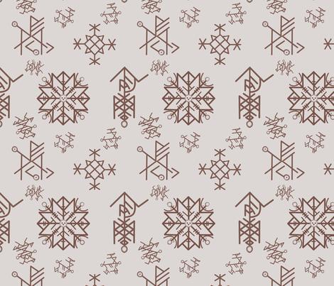 runes fabric by avot_art on Spoonflower - custom fabric