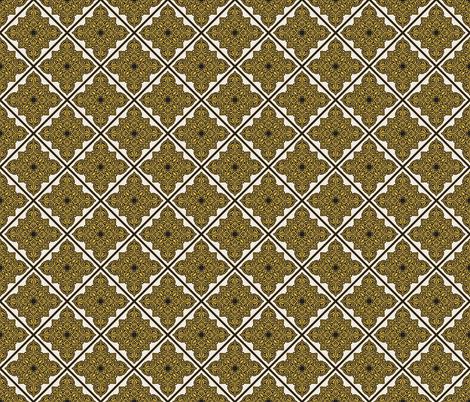 Luxury Arabic Vintage Pattern fabric by dacascas on Spoonflower - custom fabric