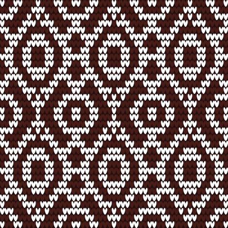 knitted_pattern_1 fabric by yuliia_studzinska on Spoonflower - custom fabric