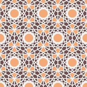 Geometric Hexagonal Arabic Pattern