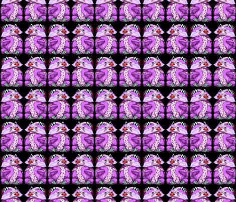 Toby Midnight Magenta fabric by amy_kollar_anderson on Spoonflower - custom fabric