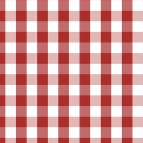Aurora Red Gingham Check