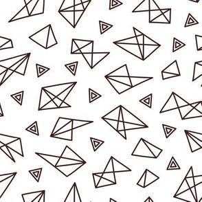 futuristic triangles