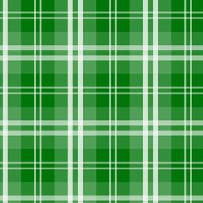 Christmas Green Tartan Plaid Check