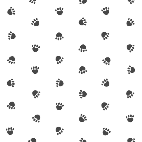 pet quilt e coordinate paws  fabric by petfriendly on Spoonflower - custom fabric