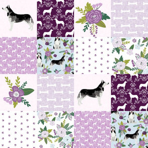 husky  cheater quilt  pet quilt c dog fabric quilts