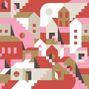 Bauhaus modern Town by unPATO