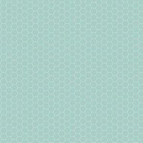 Honeycomb - Aqua