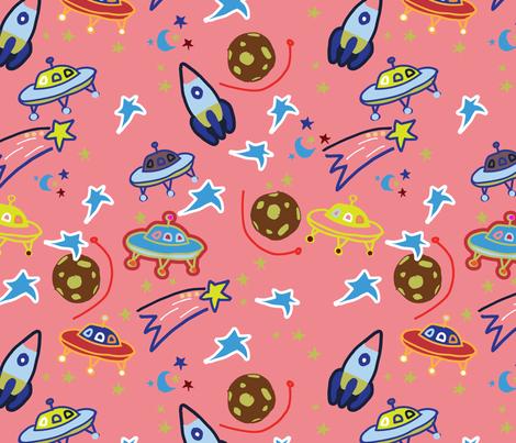girlspace-01 fabric by marti_betz_design on Spoonflower - custom fabric