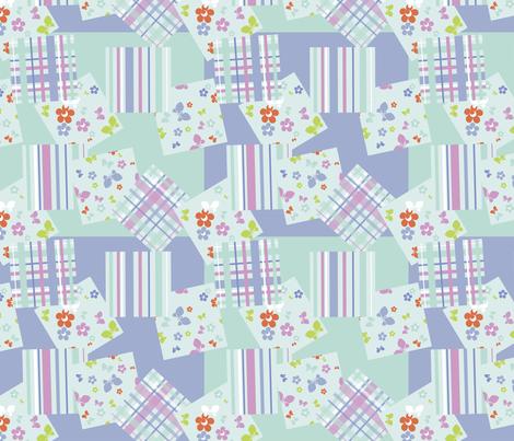 Pastel seamless  fabric by minyanna on Spoonflower - custom fabric