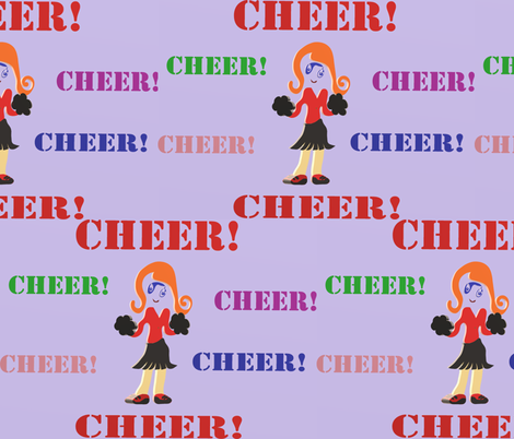 Cheer fabric by happy_creations_by_rechell on Spoonflower - custom fabric