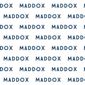 maddox // navy blue