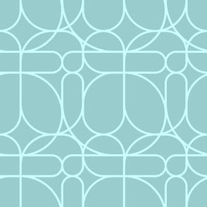 Pisano - Organic - Turquoise - Small