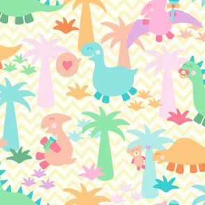 Happy Dino Hatchlings