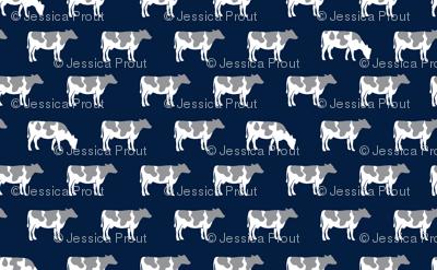 cows on navy - farm life C18BS