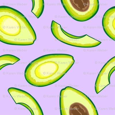 Avocado, Purple