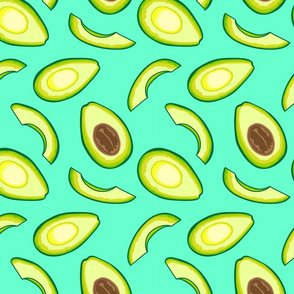 Avocado, Turquoise