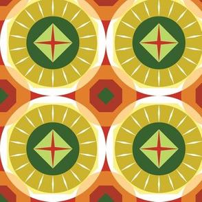 Circles origami brights