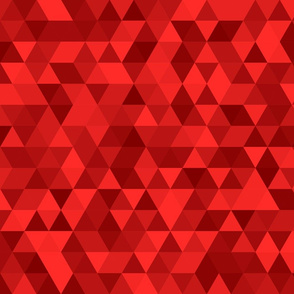 Red triangles.