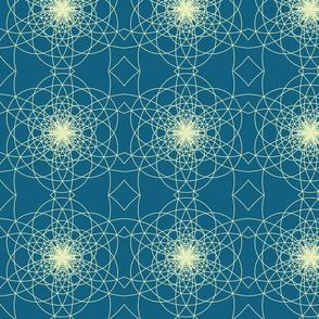 Pisano Star - Sapphire Blue