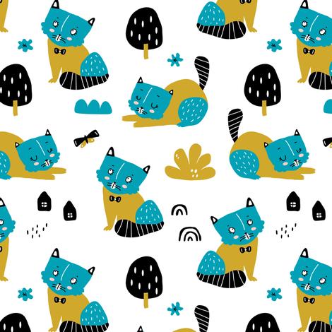 Real spring fabric by yuliia_studzinska on Spoonflower - custom fabric