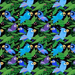 Jungle Birds – Blue