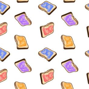 Jam on Toast, Jelly on Toast
