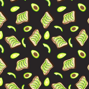 Avocados and Toast, Black