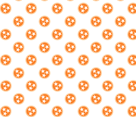 Tri-Star Fabric fabric by jessicaedmisten on Spoonflower - custom fabric