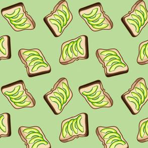 Avocado Toast, Green