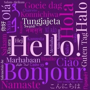 Purple World Languages