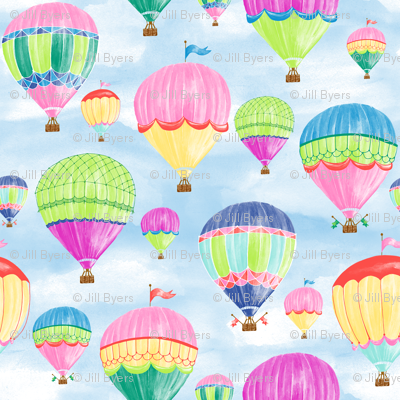 Hot Air Balloons - jewel
