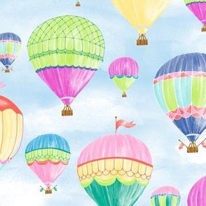 Hot Air Balloons - jewel