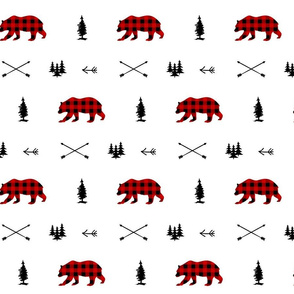 woodland Animals Plaid