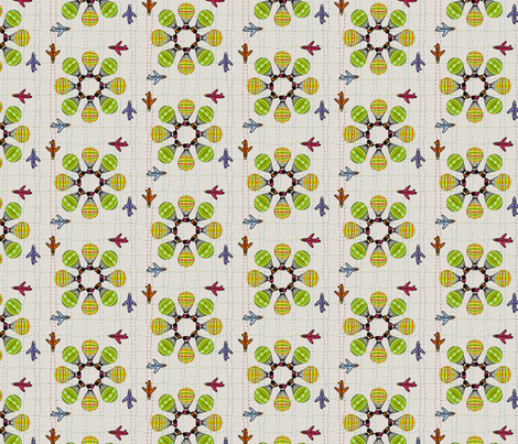 vintage air  fabric by fries_and_champagne on Spoonflower - custom fabric